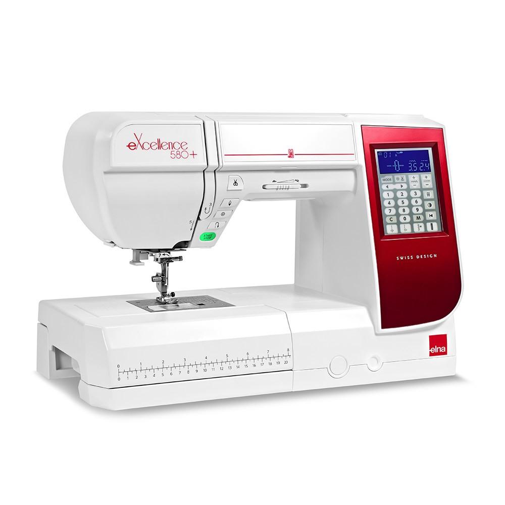 Machine à coudre Elna eXcellence 580+ : offre spéciale à saisir