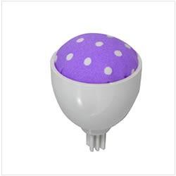 Coussin à épingle – violet