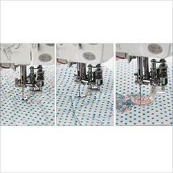 Kit complet de pieds pour le quilting mains-libres