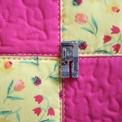 Pied patchwork pour couture 1/4 de pouce ou 10 mm