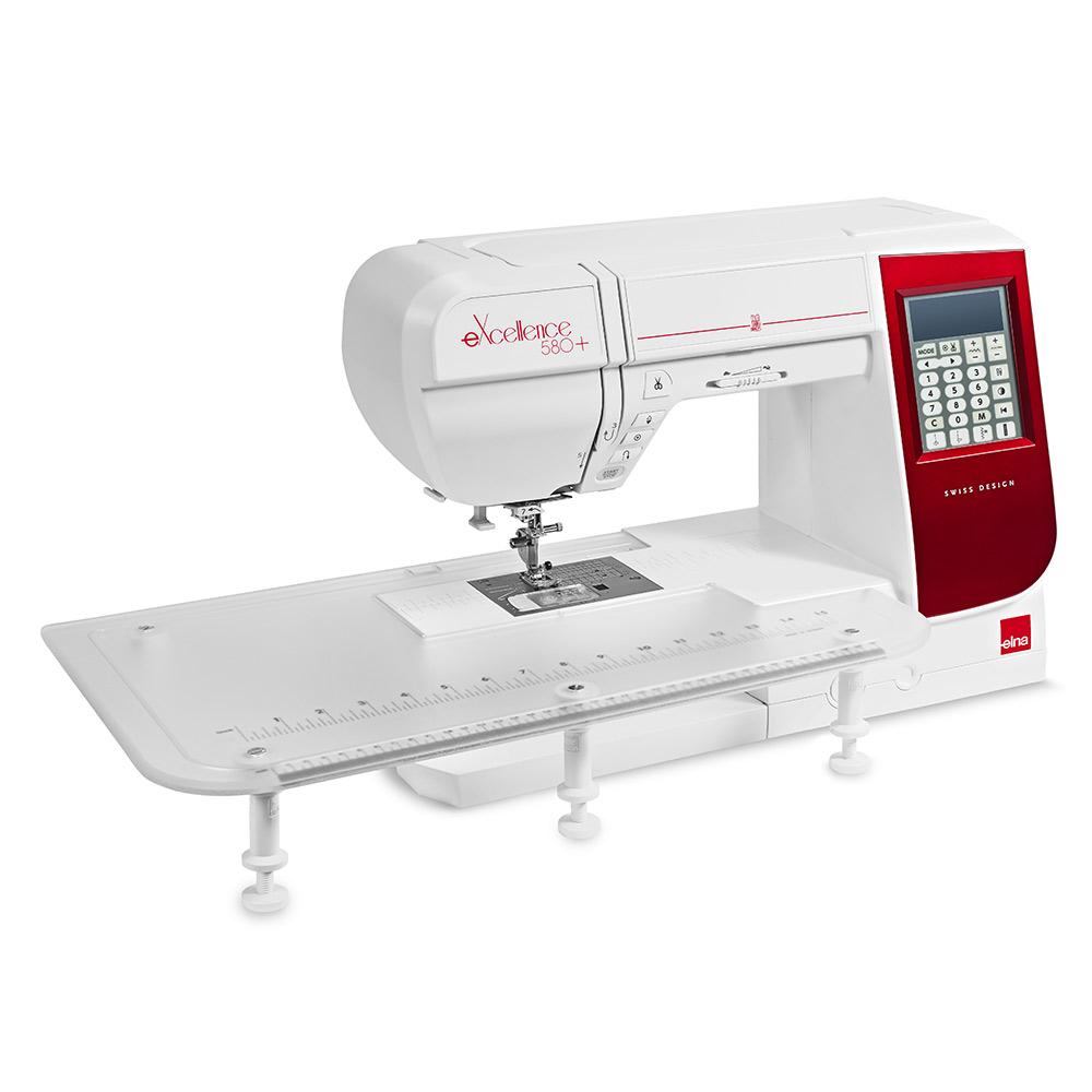 Machine à coudre elna 680+ : avec table d'extension
